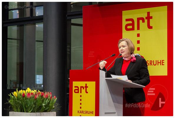 Britta Wirtz, Geschäftsführerin der Karlsruher Messe- und Kongress GmbH