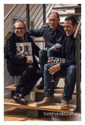 Frank Paul Kistner, Stefan Siller, Frank Molliné