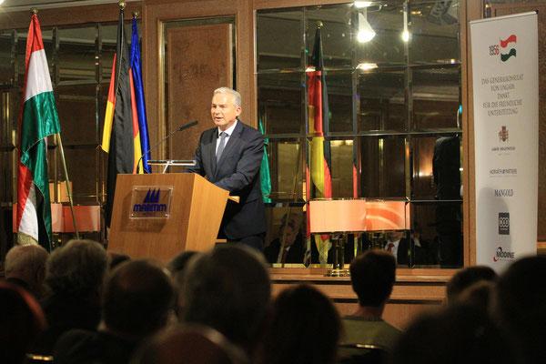 Generalkonsul Thomas Strobl • Minister für Inneres • Gedenkfeier • 1956 Ungarn Stuttgart, Maritim Hotel 2017