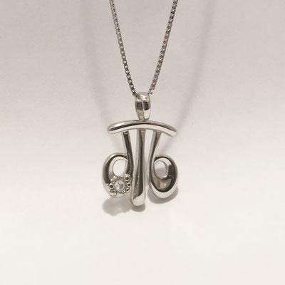 gioielli biancopunto jewels zodiaco segni zodiacali ciondolo bilancia