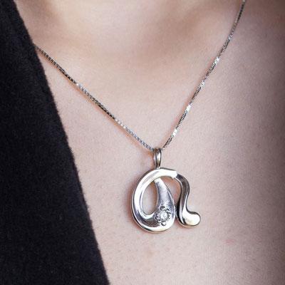 gioielli biancopunto jewels zodiaco segni zodiacali ciondolo acquario