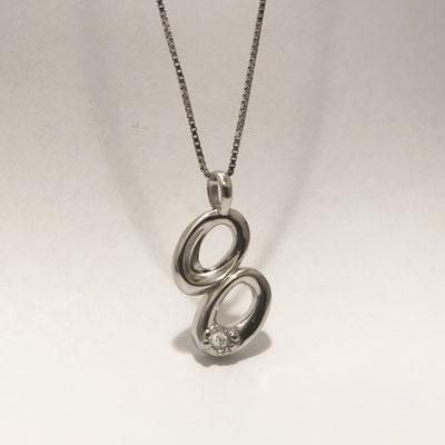 gioielli biancopunto jewels zodiaco segni zodiacali ciondolo gemelli