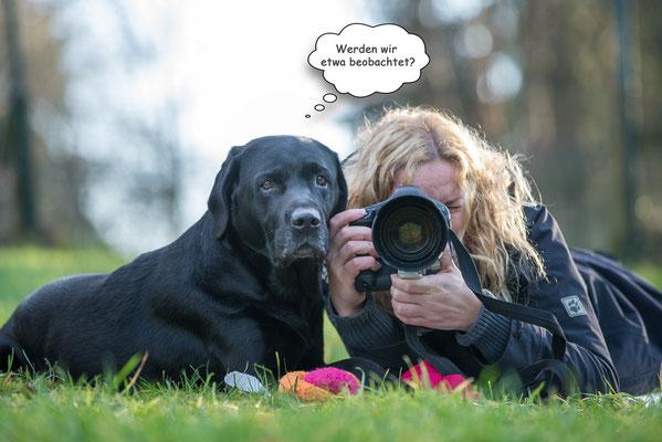 Ole & ich - Januar 2014 - Foto by Anja Wilbs Tierfotografie