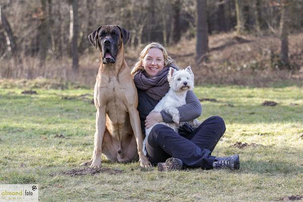Hundeshooting - Sam und Buffy, Hamminkeln 2015 - Foto Claudia Oehmchen