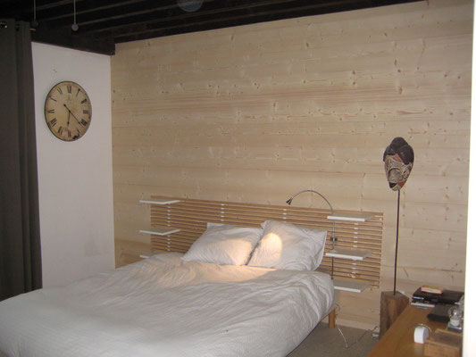 L'Atelier Marquis - aménagement intérieur - bardage intérieur