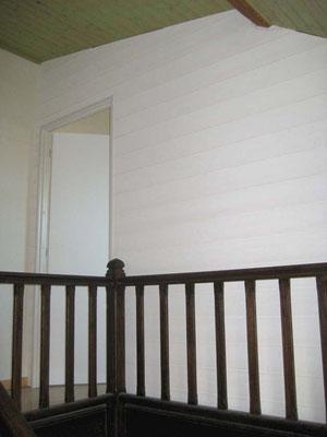 L'Atelier Marquis - aménagement intérieur - cloison bardage intérieur