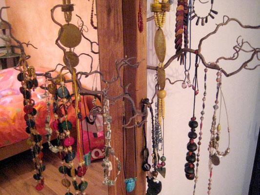 Présentoir à bijoux branche