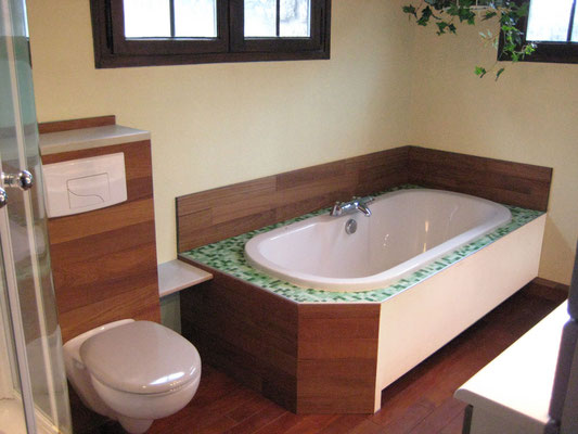 L'Atelier Marquis - aménagement intérieur - habillage de salle de bain
