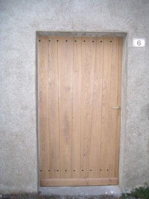 L'Atelier Marquis - Porte en chêne massif
