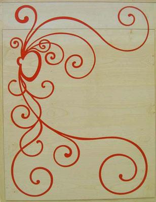 L'Atelier Marquis - ébénisterie d'art - Secrétaire billet doux