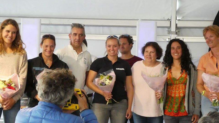 nur 5 Frauen haben an der Transgascogne teilgenommen