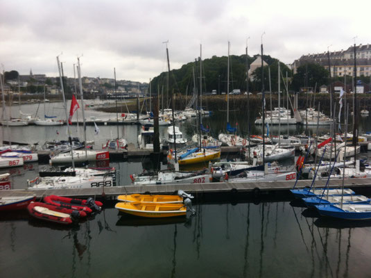 the port of Douarnenez