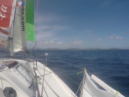 Martinique in Sicht