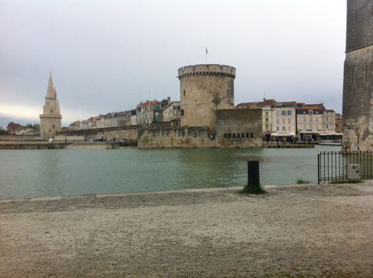 Das centre-ville von La Rochelle