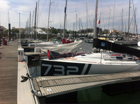 732 am Mini-Pontoon in La Rochelle