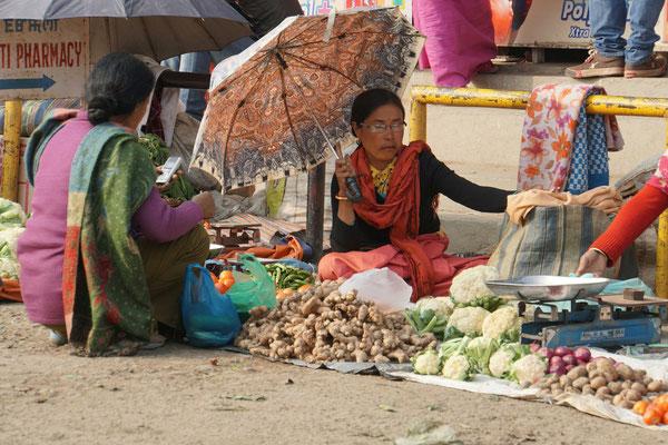 Auf dem Frauenmarkt...