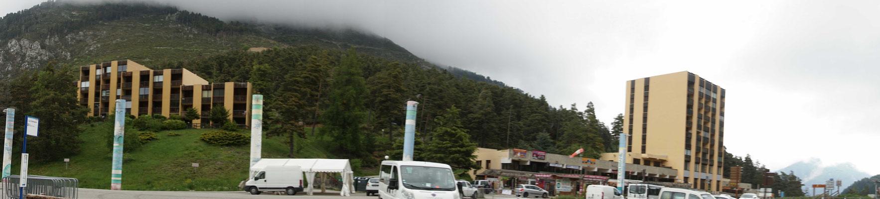 Eine dieser unglaublich hässlichen Passhöhen in Frankreich... - also nach meinem Geschmack...