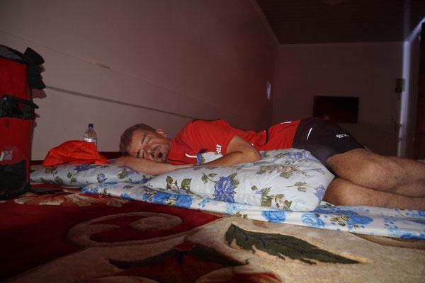 Kirtap schläft in Mary den Mittagsschlaf des Gerechten...