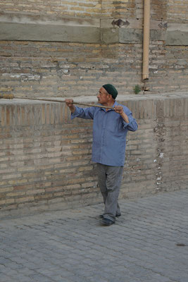 Khiva wird herausgeputzt