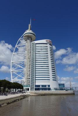 Höchstes Gebäude, ein Hotel mit Aussichtsrestaurant