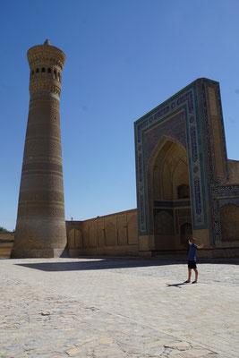 Kirtap in Bukhara...