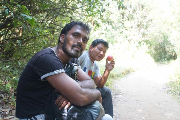 Kapil mein Guide, Porter und leckerer Apfel aus Nepal...