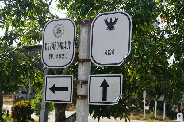 An solchen Kreuzungen kann ich hin und wieder auf der Karte erkennen, wo ich wirklich bin - sonst einfach der Nummer der richtigen Strasse folgen...