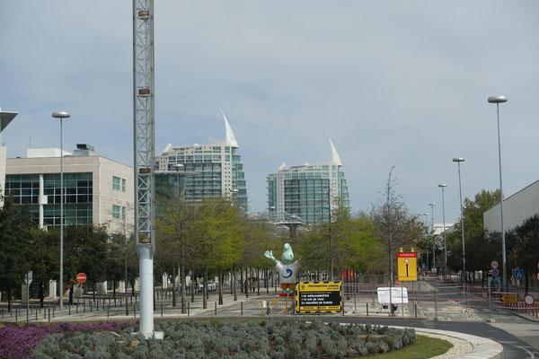 für die gewesene Weltausstellung erbauter Stadtteil Lissabon's