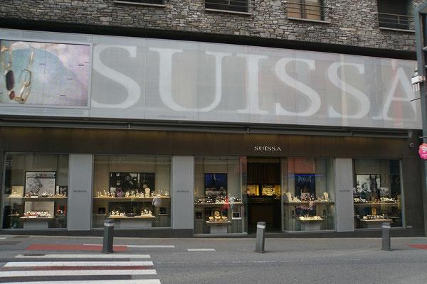 Die Schweiz sehr präsent...