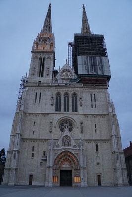 Eine der schönsten Ansichten Zagrebs...