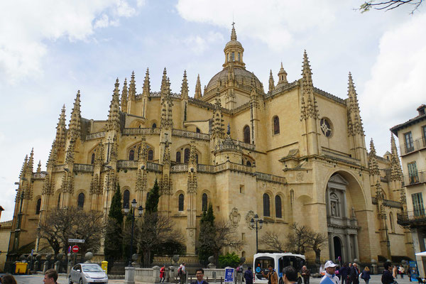 Kathedrale in Segovia...