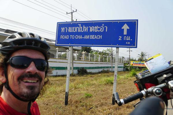 Da habe ich noch gelacht - ich wusste ja nicht, dass dann 85 km GEGENWIND kommen sollten...