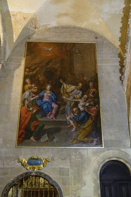 Das letzte der 4 Wandbilder der Kathedrale