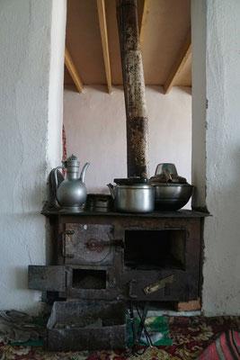 Der Kochherd der Familie...