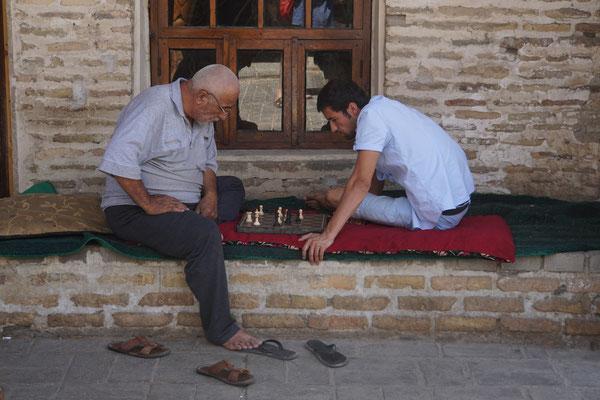 Schach am Schatten...
