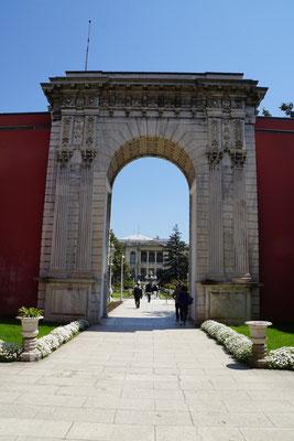 Eingangsbereich zum Palast...