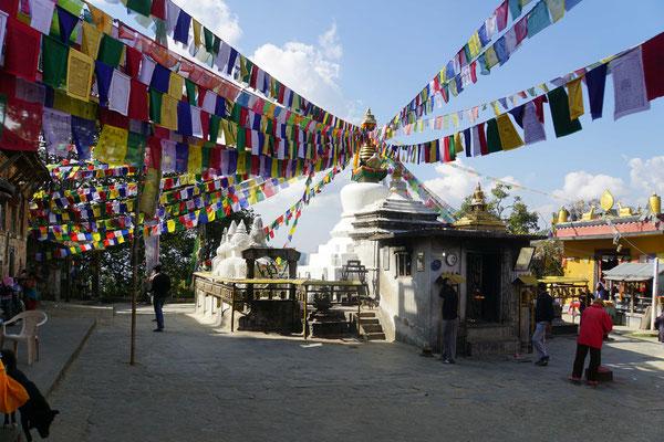 Die Stupa mit der Asche des Prinzen...