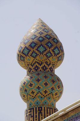 Turm der Moschee -  Detail...