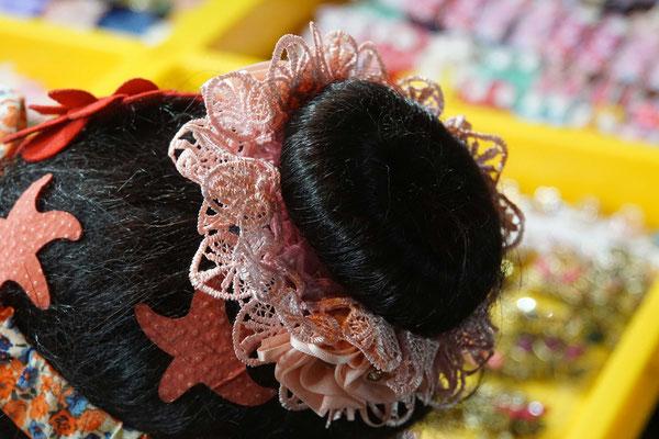 Auch wenn meine Haare weiter wachsen - ein solches Haarband werde ich NIE tragen...