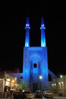 Abendstimmung über Yazd...