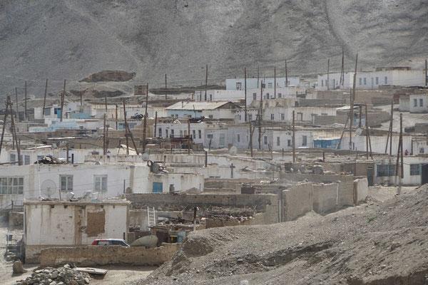 Murgab erinnert auch an Bilder, die ich von Slums in anderen Ländern habe...