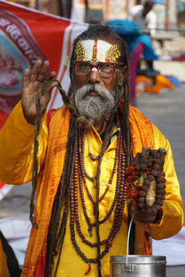 Potrait Holy Man...