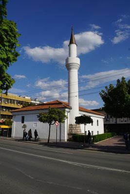 Das erste Minarett auf meiner Reise - gleich gegenüber meines Hostels...