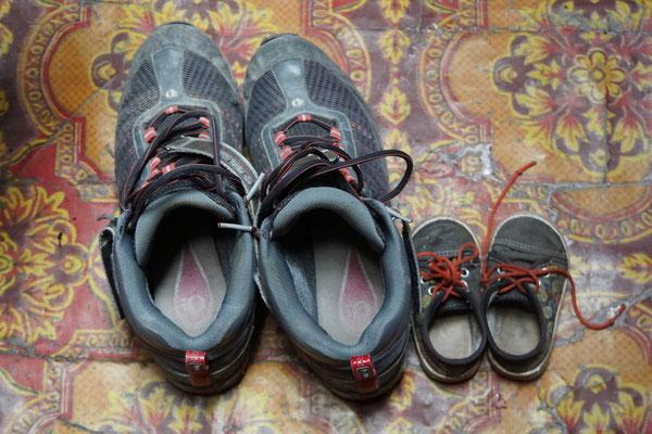 Schuhe im Grössenvergleich...