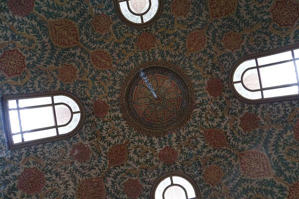 1001 Nacht im Topkapi Palace - die Kuppel in einem der unzähligen Pavillons des Palastes - soooo schööön...