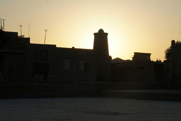 Khiva im Sonnenaufgang