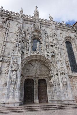 Eingangsportal des Mosteiro dos Jeronimos