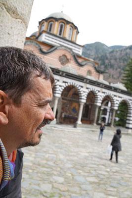Kirtap im Kloster - ich war noch immer nicht beim Frisör...