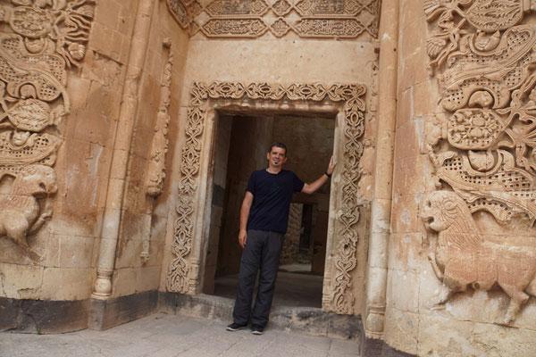 Im Ishak Pasha Palace...