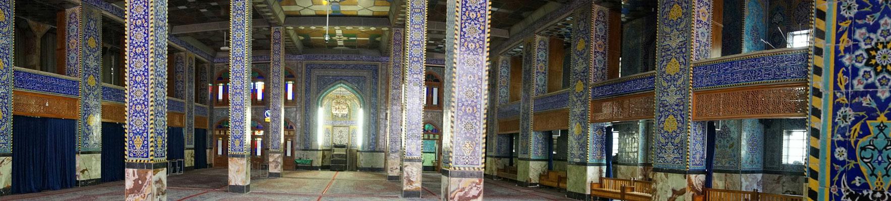 Ein Rundblick durch die Moschee...